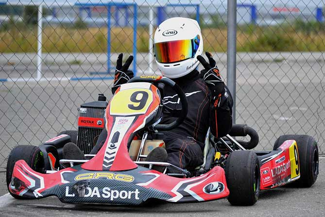 картингист Lada Sport Karting Team